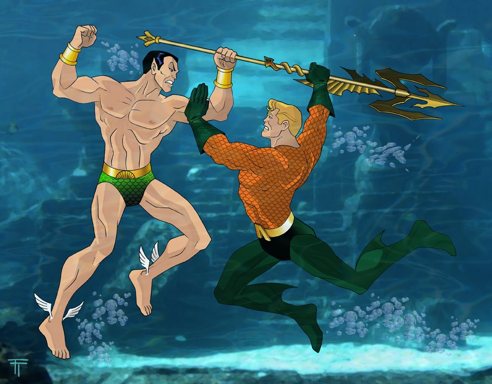 Aquaman Cartoon Image