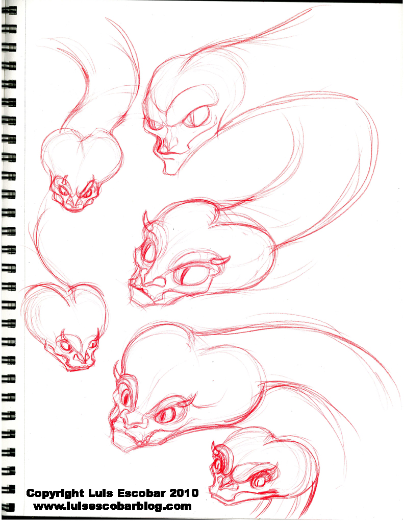 Snake Monster Sketch Images amp Pictures Becuo