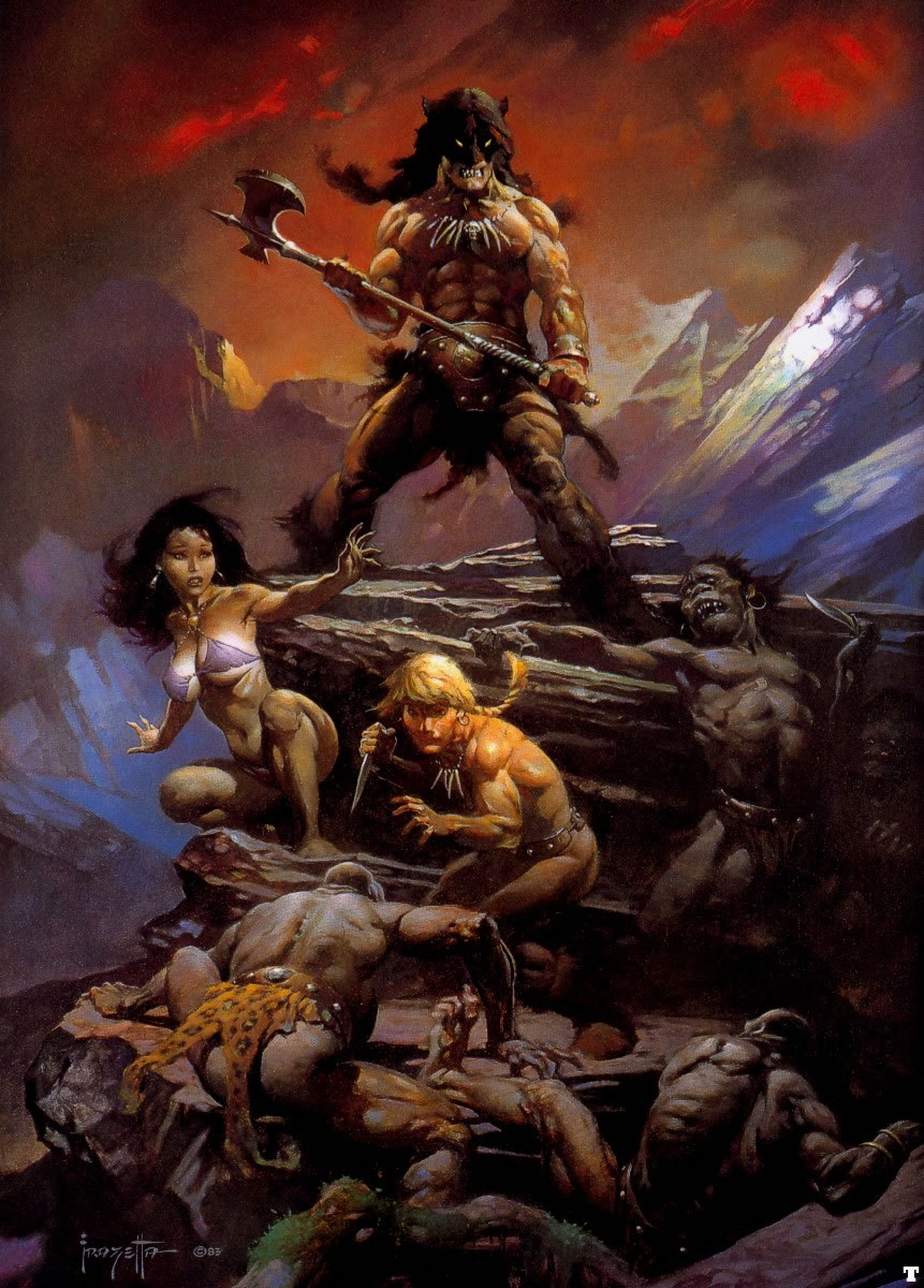 frank frazetta fire and ice