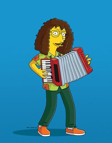 At a Simpsons Party, I Encountered Weird Al Yankovic and..