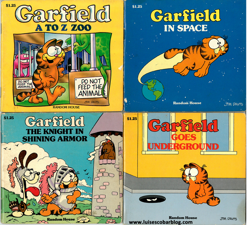 Garfield A to Z Zoo Garfield in Space Garfield the knight in shining armor Garfield Goes underground