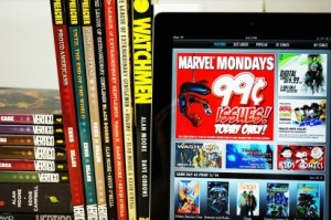 The Pros and Cons of Buying and Reading Digital Mainstream Comics (1)