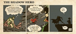 Gene Yang THE SHADOW HERO Comic Book Review (4)