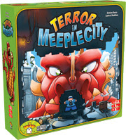 """Three Reasons to Play """"Terror in Meeple City"""" (previously called """"Rampage"""") a Review"""